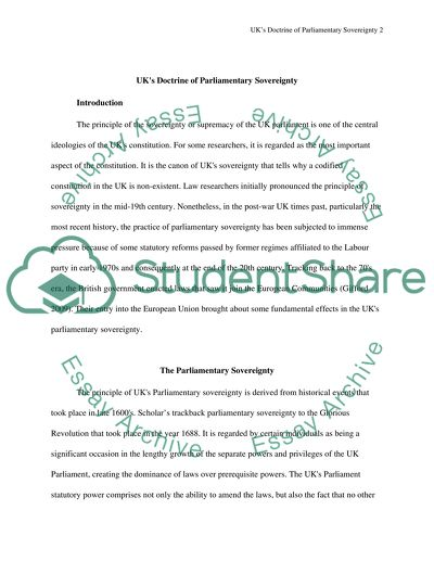 Topics For A Proposal Essay How Has Uk Joining The European Union Impacted The Doctrine Of Parliamentary  Sovereignty Cause And Effect Essay Papers also Business Management Essays How Has Uk Joining The European Union Impacted The Doctrine Of Essay   Science And Technology Essays