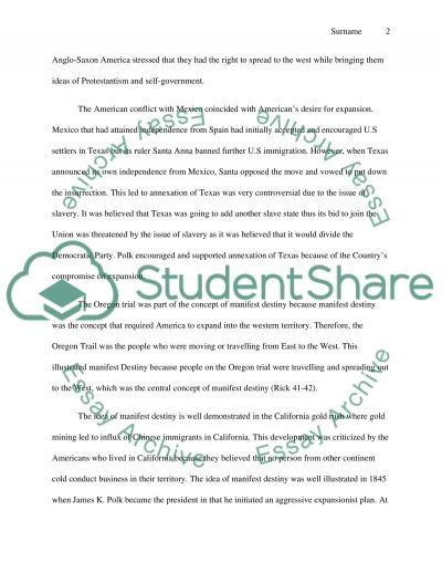 westward expansion paper research example topics and well  westward expansion paper essay example