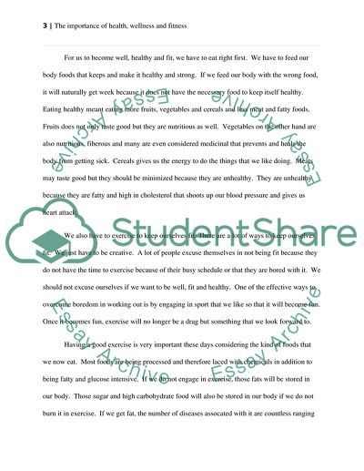 A Thesis For An Essay Should  English Language Essay also Thesis In An Essay Fitness And Wellness Essay Example  Topics And Well Written  How To Start A Synthesis Essay