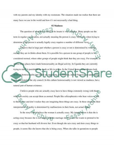 Journals essay example