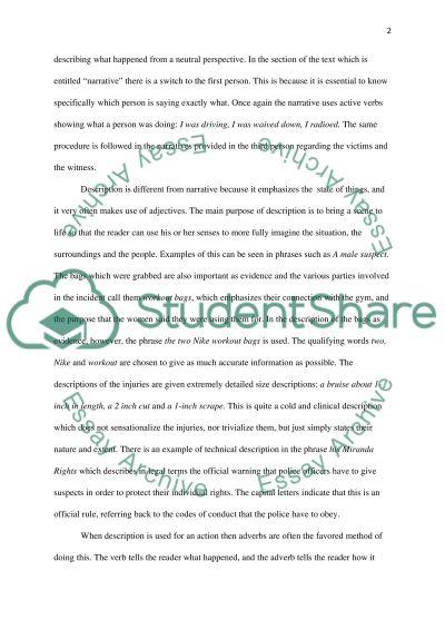 Rhetorical Analysis of Student Writing Essay Example   Topics and ...
