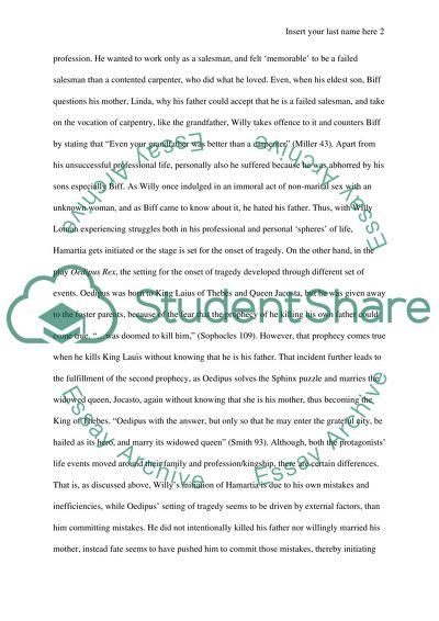 Literary Essay Topics  Goals Essay Samples also Can One Person Make A Difference Essay Death Of A Salesman And Oedipus The King Essay Essay Writing In French