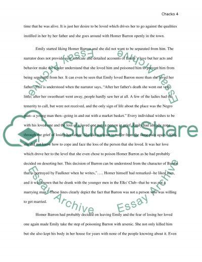 barn burning essay