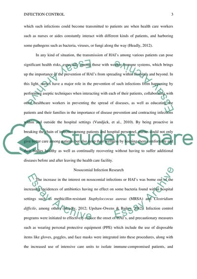 why is infection control important essay