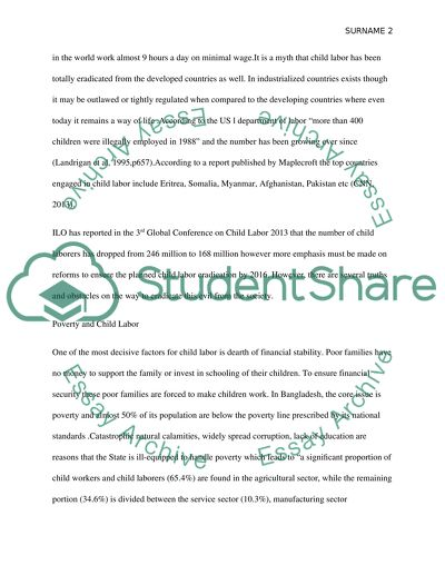 Topics For Proposal Essays Child Labor High School Admission Essay Samples also Proposal Essays Child Labor Essay Example  Topics And Well Written Essays   Words Essay About High School
