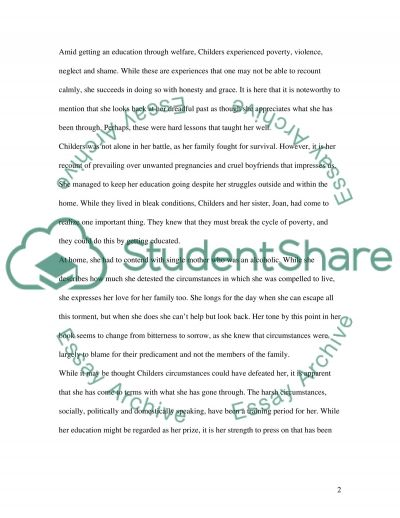 EDUCATION WELFARE essay example