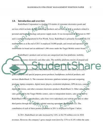 Essays about strategic management