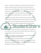 answering the paragraph Essay example