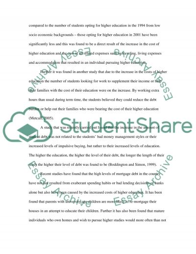 Higher Education in the United Kingdom essay example