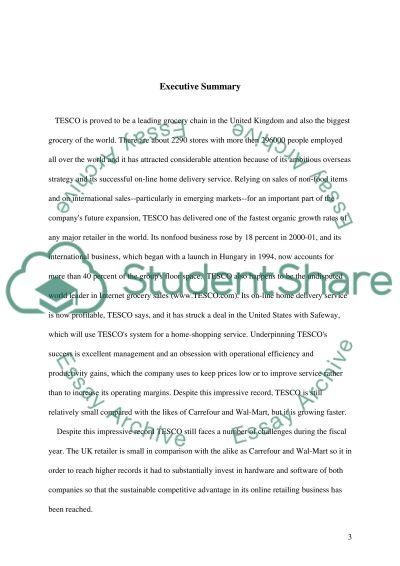 Marketing Communications Plan for TESCO essay example