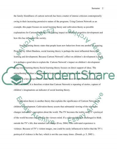 Impact of Media on the Society essay example
