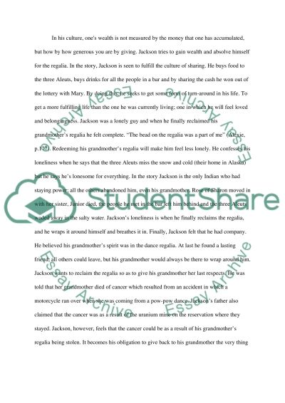 """what you pawn i will redeem by sherman alexie essay """"what you pawn, i will redeem"""" (sherman alexie, 2003) copy and paste the writing prompt restate your working thesis after the copy-and-paste prompt."""