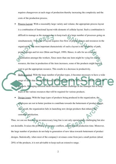 Managment of business system essay example