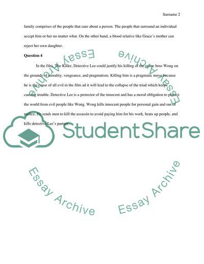 Final short essay