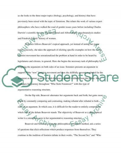 Philosophical reasoning essay example