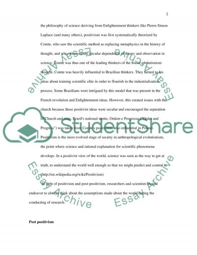 Communication research techniques essay example