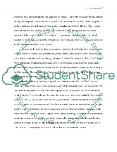 Controlling Freedom essay example