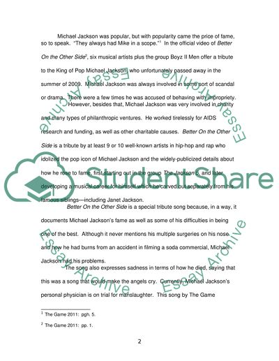 A Thesis For An Essay Should The Importance Of Authenticity In Current Popular Music Cause And Effect Essay Thesis also Example Of English Essay The Importance Of Authenticity In Current Popular Music Essay Essay Science