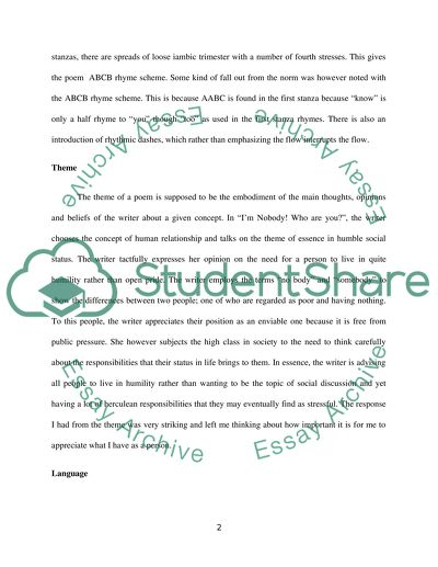 essay on humble person