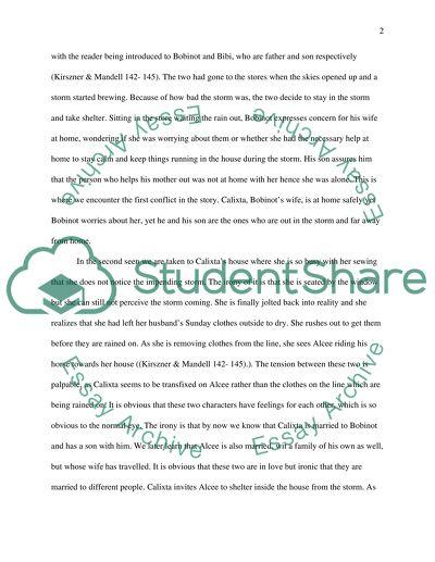 Kate chopin essay