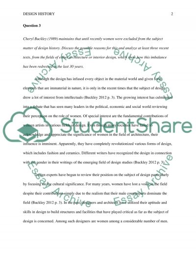 Design History: Approaches to the Historical Study of Design essay example