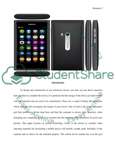 How to use a Rubber in Mobile Phones Essay example