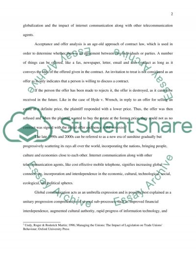 Email and Postal Rules Essay example