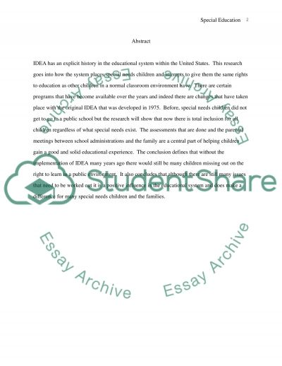 Legal Policies and Procedures to Refer a Student with a Perceived Impairment for Evaluation essay example