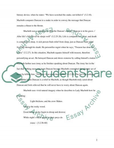 manipulation and regret in macbeth essay example topics and well  manipulation and regret in macbeth essay example