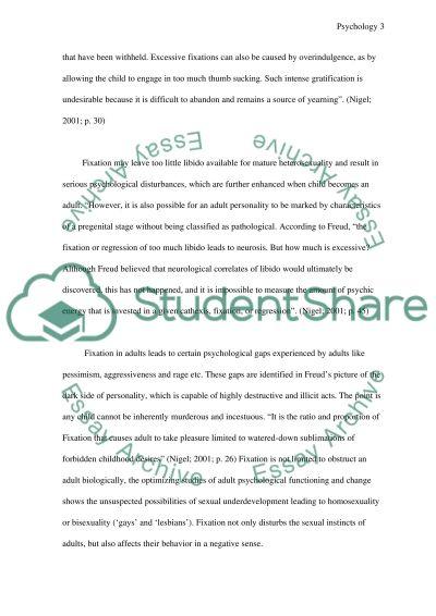 Human Development Master Essay essay example