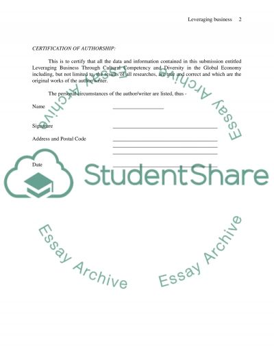 Proposal and lectur viwe essay example