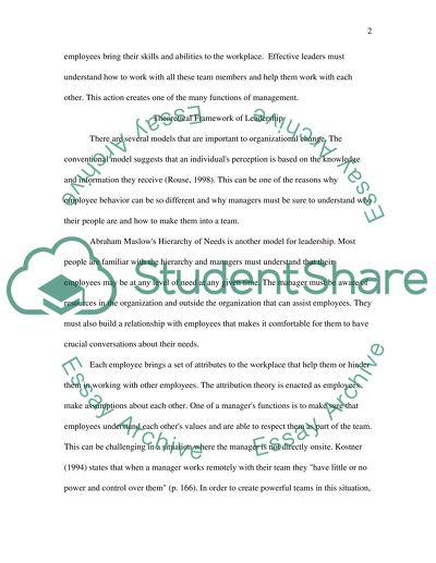 Graduate Reflection Paper 3(a)