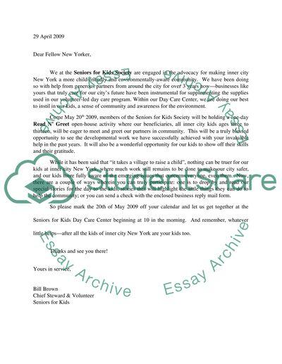 Business Communication High School Essay