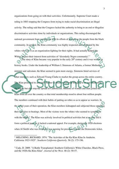 Mandatory Written Assignment