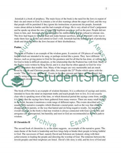 Bibble Book Summary essay example