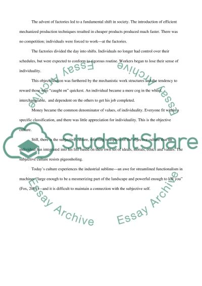 Impact of work on routine essay example