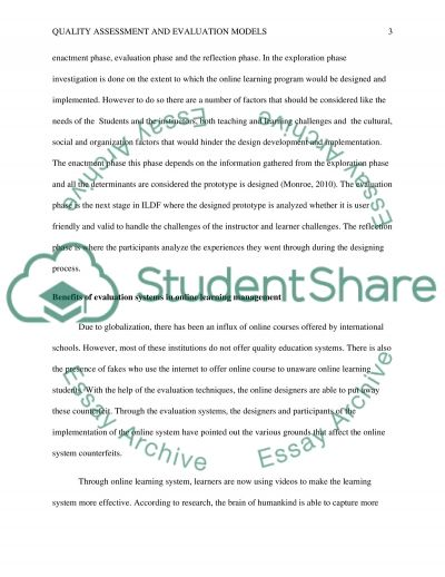 ILDF essay example