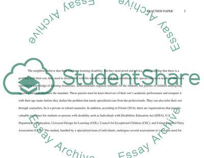 The Individualized Education Program