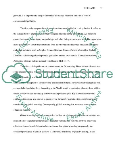 Essay Writing Examples For High School Effects Of Environmental Pollution Essay Writing Scholarships For High School Students also Bullying Essay Thesis Effects Of Environmental Pollution Essay Example  Topics And Well  Thesis Statement For A Persuasive Essay
