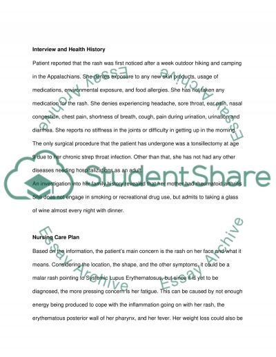 Physical Assesment Case Study essay example