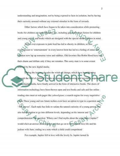 Chilrdens Books essay example