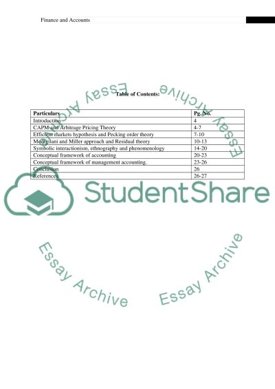 essay finance accounting Accounting and finance essays: over 180,000 accounting and finance essays, accounting and finance term papers, accounting and finance research paper, book reports.