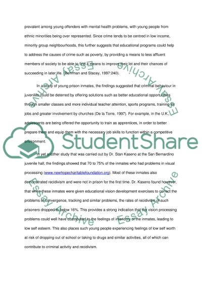 Benefits Of Educational Programs essay example