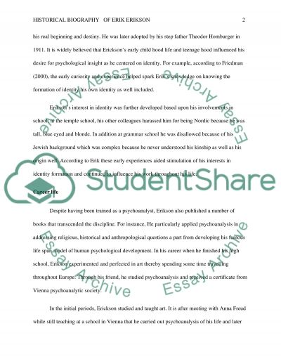 identity development essay Identity development during adolescence and develop a 2 page handout of key points for a formal group high school guidance counselors.