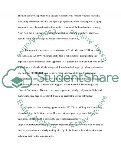 Intellectual Property & Technology Transfer essay example