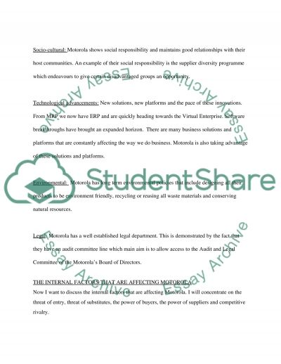 Technology Strategy & Innovation Management essay example