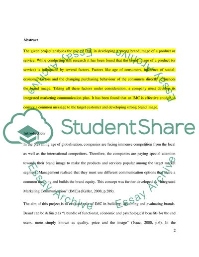literature review on integrated marketing communication