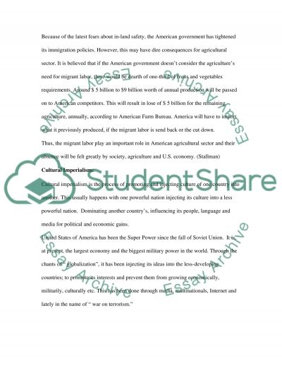 Role of Labor in Texas essay example