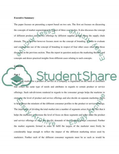 Case Study Analysis (A REPORT) (RESIT)