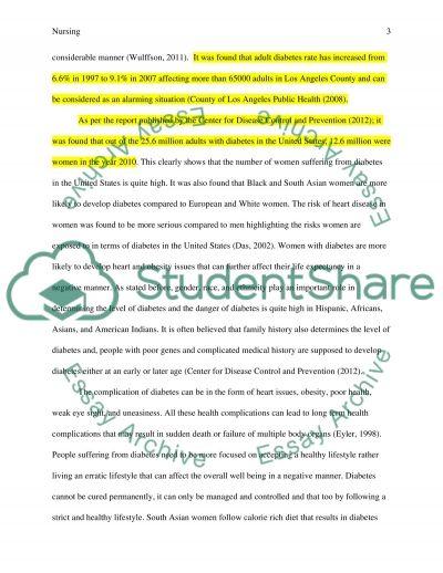 DP CH 1 essay example